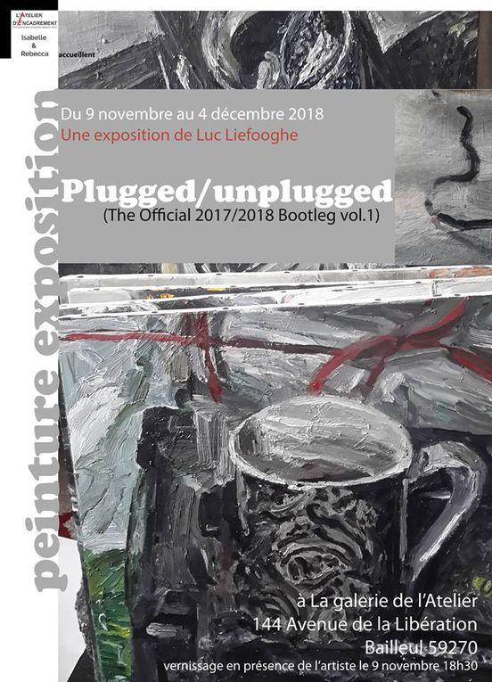 Luc Liefooghe expose à la Galerie de l'Atelier en Novembre 2018