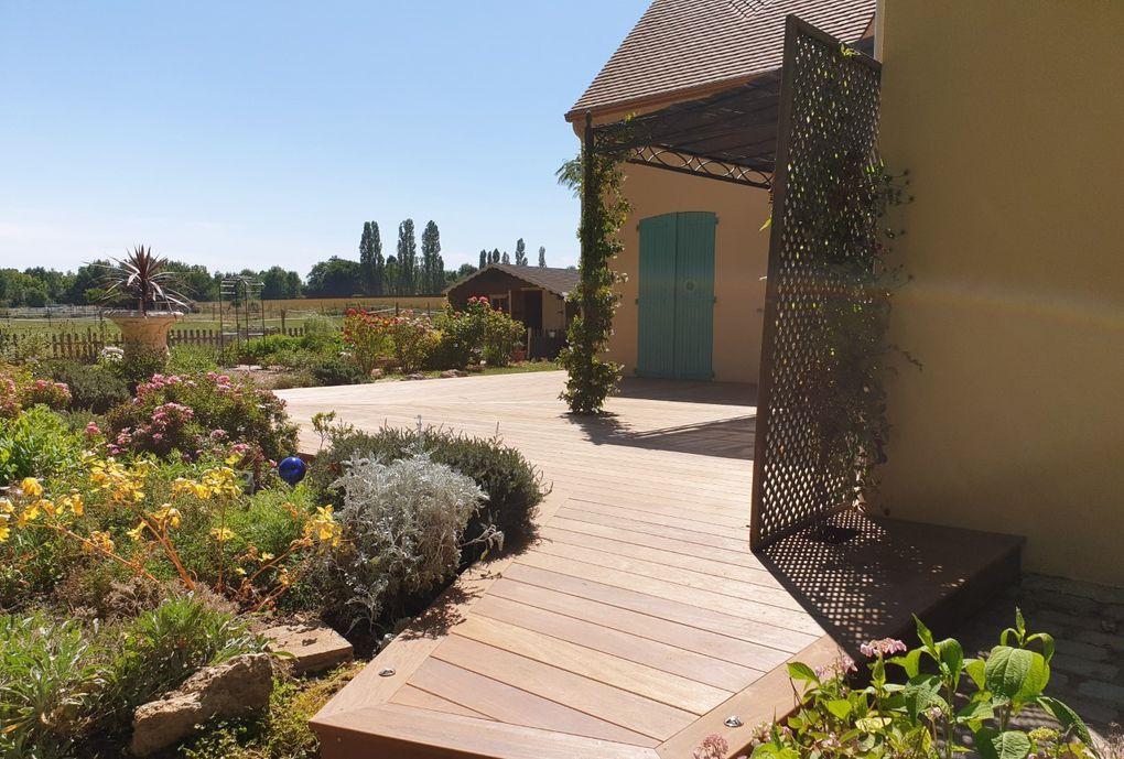 terrasse bois Chevreuse