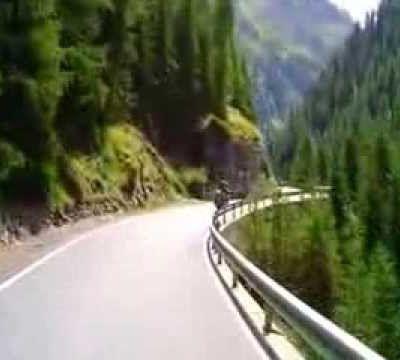 Goldwing Unsersbande - Stelvio pass vidéo de la montée par le Unsersbande bikers du 67 (4ème partie)