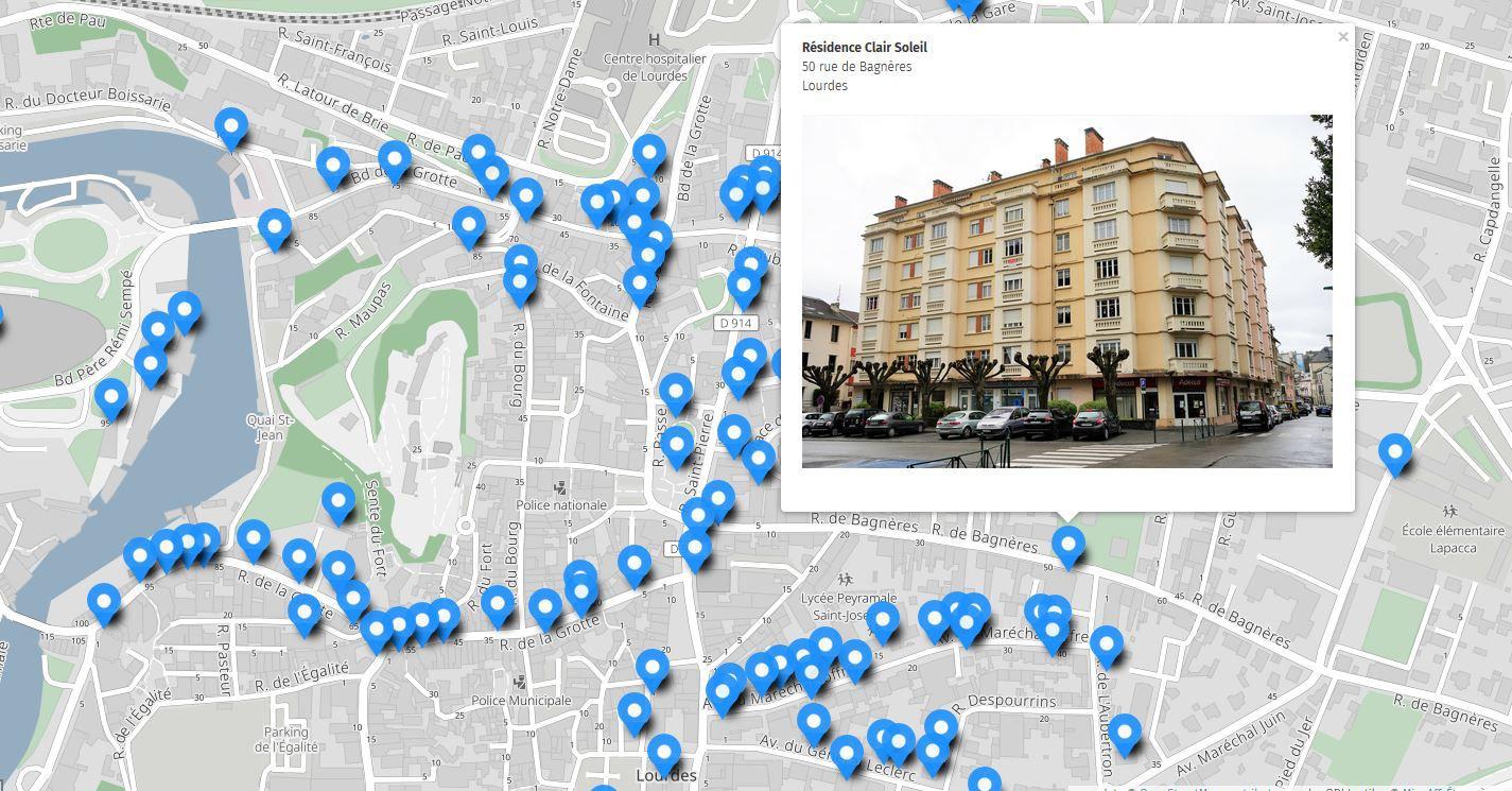 Etude patrimoine XXe siècle TLP Agglomération Tarbes Lourdes Pyrénées, Parcours d'architecture, 2020