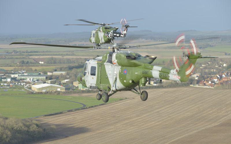 L'Army Air Corps se sépare de ses derniers hélicoptères Lynx