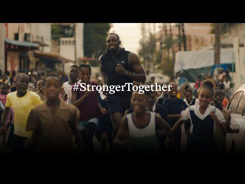 Beyond pandemic : Stronger together with athletes from around the world