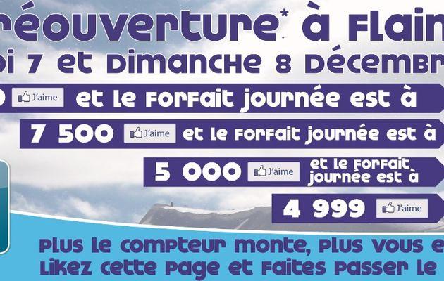 """Skier sur Flaine """"Grand Massif"""" les 6 et 7 décembre à seulement 1 € !!!"""