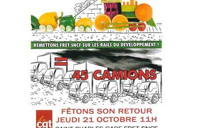 Victoire des cheminots : le train des primeurs Perpignan - Rungis rouvre !