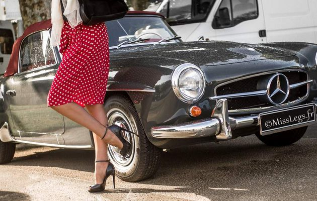 Classic Car and Nylon Stockings