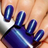 Evil Queen Franken Nail Polish - Purple/blue color with green hues - Limited Edition