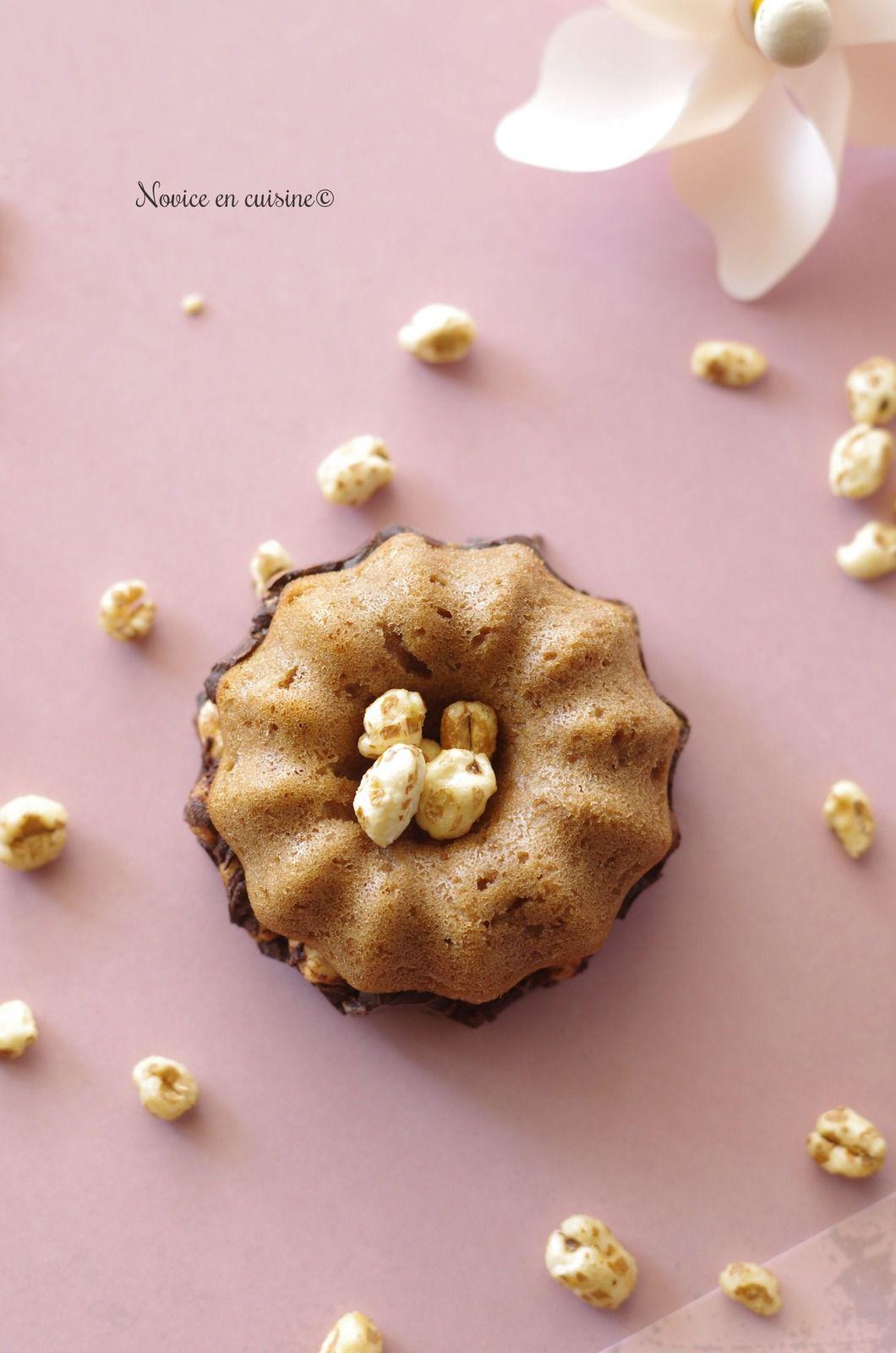 Gâteaux chocolat et blé soufflé