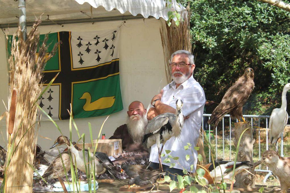 la 9ème fête du parc de Brière avec les chasseurs à l'arc de grande brière.