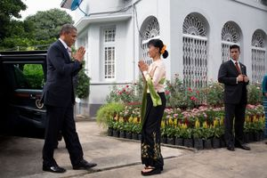 Reuters - Obama says barring Suu Kyi from Myanmar presidency 'doesn't make much sense'