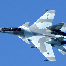 Le Sukoi 30 avion russe