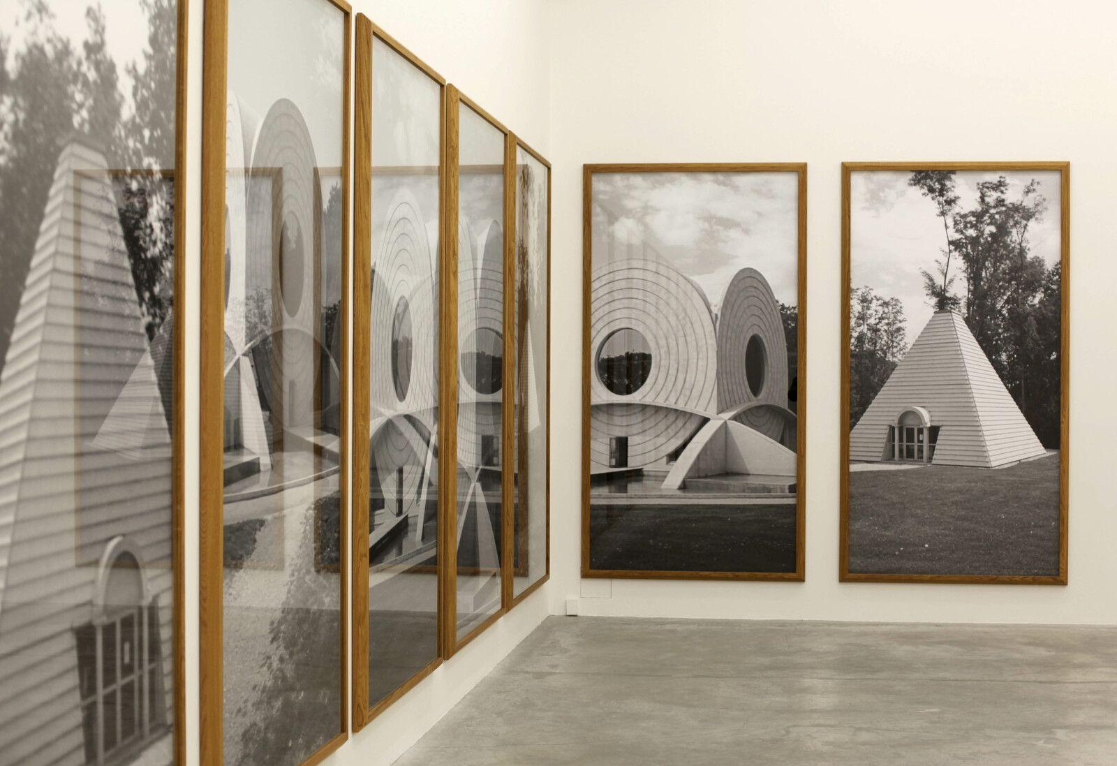 Vue de l'exposition de Günther FÖRG - Courtesy de l'artiste et de la Galerie Almine Rech © Photo Éric Simon