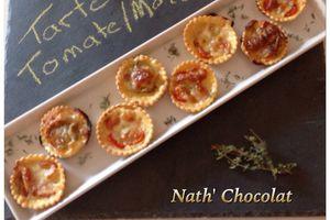 Tarte tomate et mozzarella