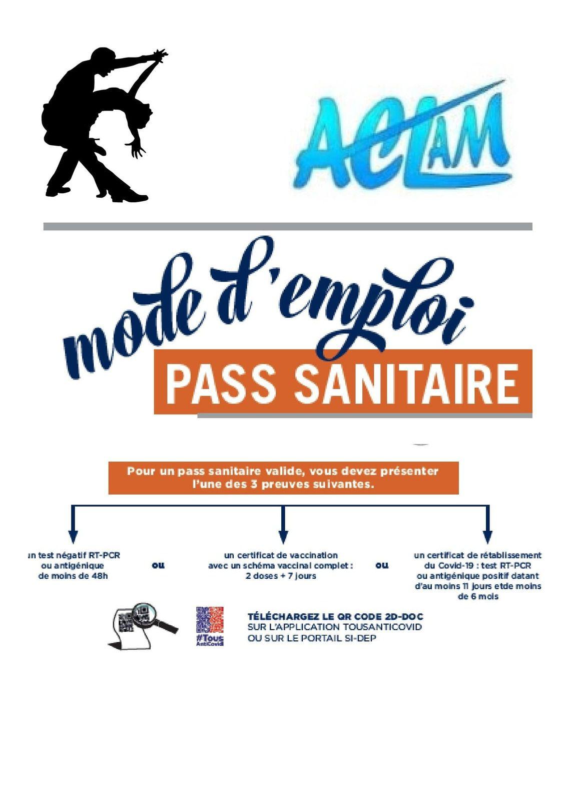 LE PASS SANITAIRE : PARLONS EN !