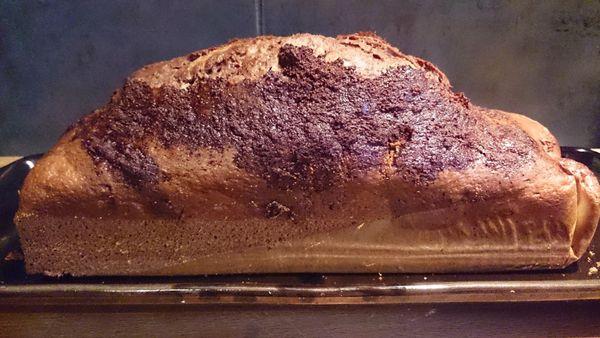 Gâteau marbré vanille Ovomaltine