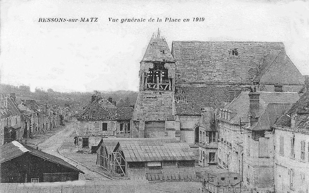 Album - le village de Ressons sur Matz (Oise), les places