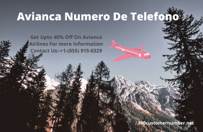 Avianca Telefono USA Phone Number