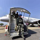 144 Casques bleus chinois à Juba, 520 autres en route