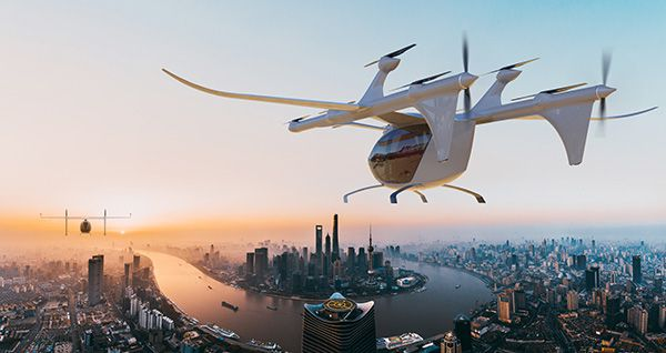 V1500M - an autonomous passenger eVTOL aircraft aerobernie