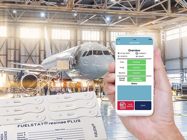 FUELSTAT Mobile app to test for fuel contamination