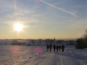 Stage grimpe des 7 et 8 février - Les pieds dans la neige, le bout du nez au soleil