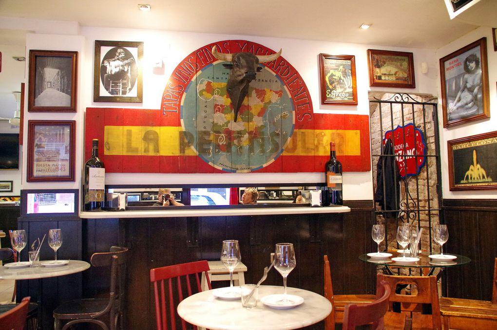 Park Guëll & Restaurants Barcelonais