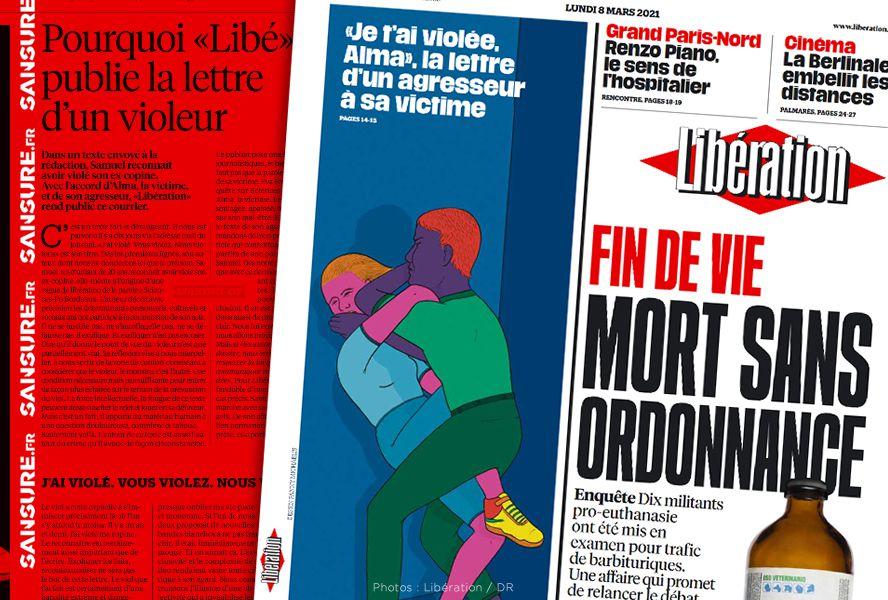 Polémique autour de la lettre d'un violeur publiée par Libération ! #Libération
