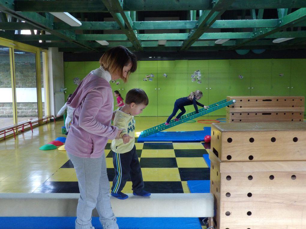 Les enfants en action