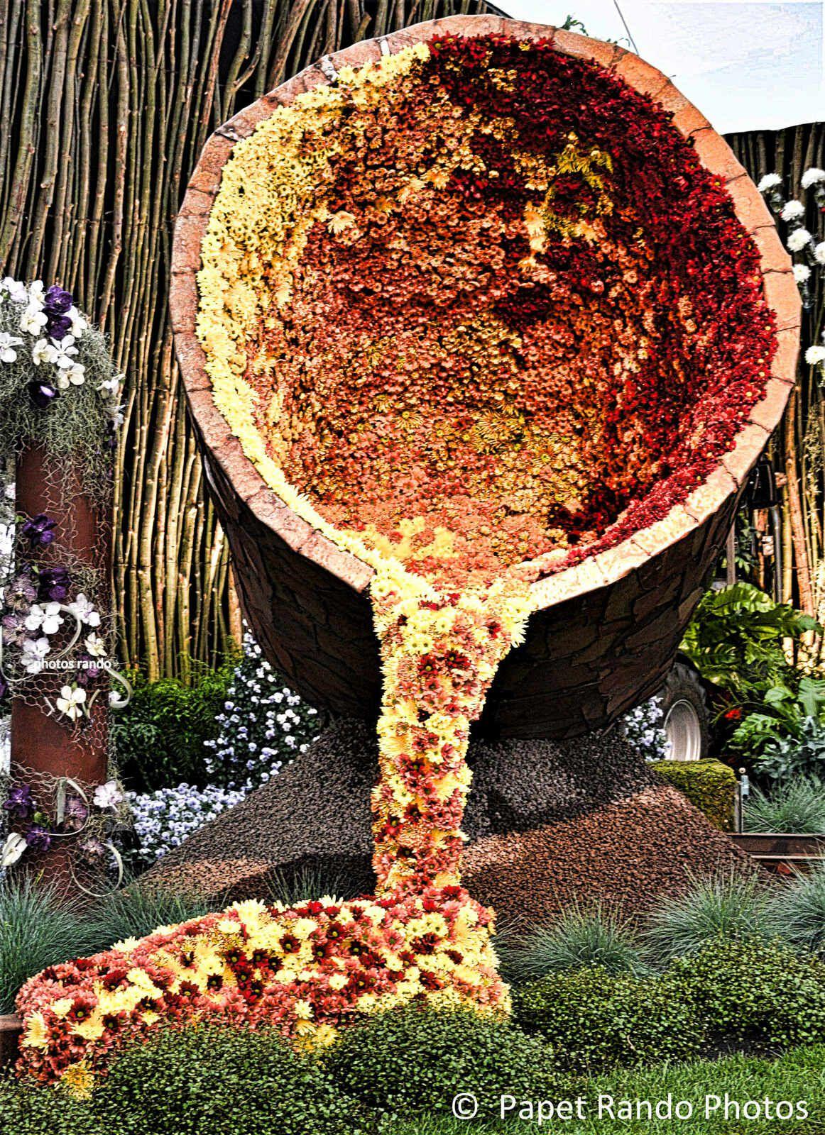 FLORALIES GANTOISE le pied en Floralie GRANDIOSE