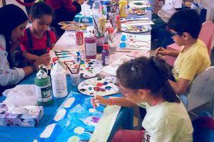 Thérapie par l'art pour enfant