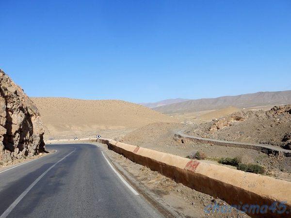 RN13 Errachidia-Midelt (Maroc en camping-car)