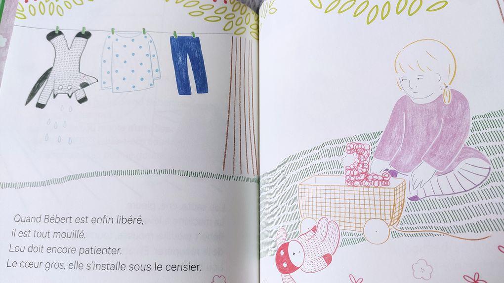 Lou et le doudou. Sandra LE GUEN et Audrey CALLEJA – 2021 (Dès 2 ans)