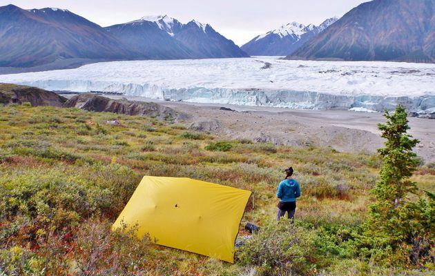 Canada - Celui qui effectuait le trek du glacier Donjek (étapes 1 à 4)