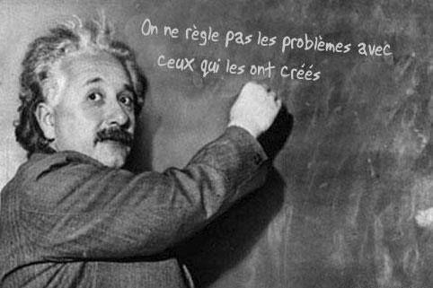 Illumination ! Merci Albert ... Einstein.