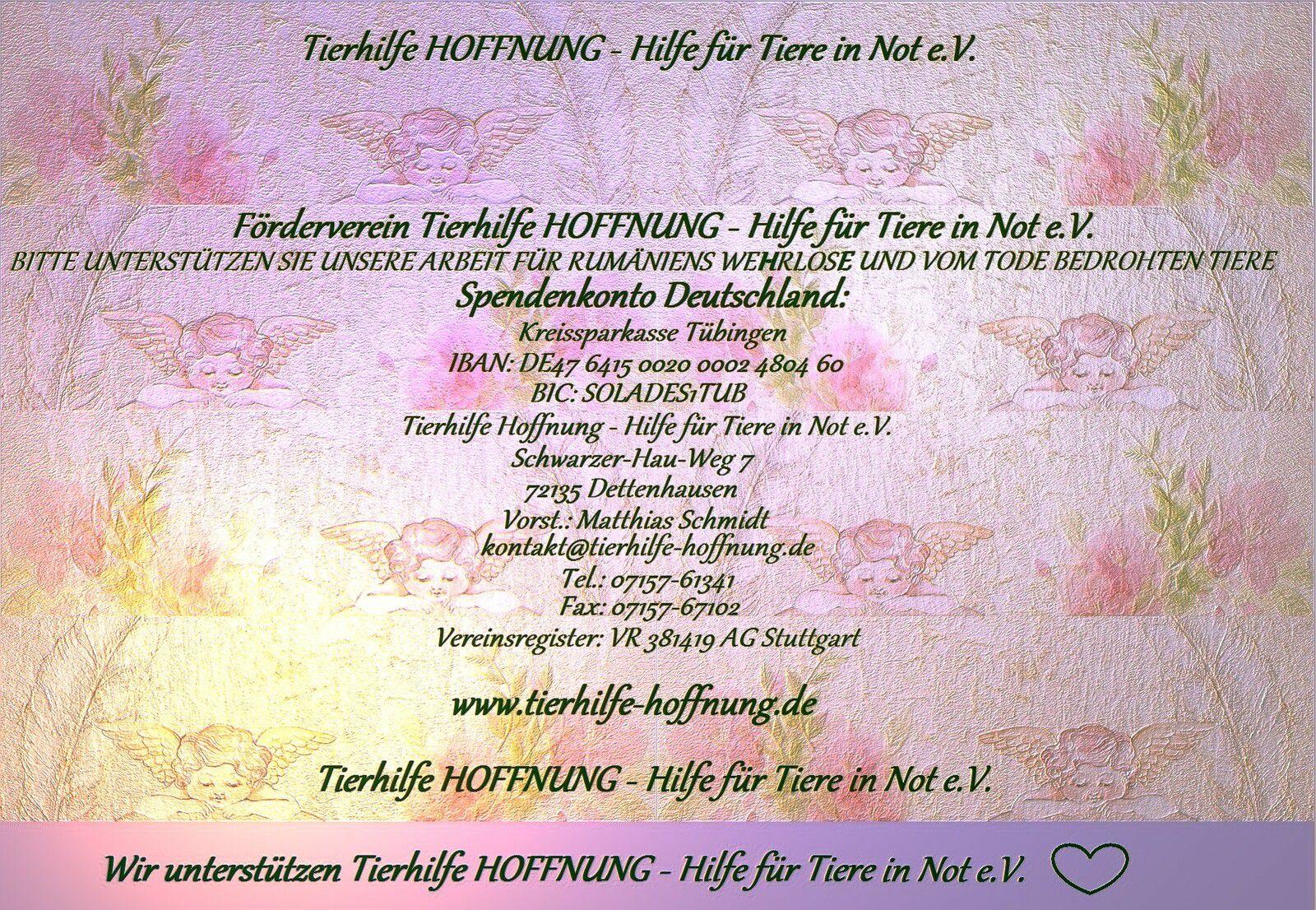 TIERHILFE HOFFNUNG e.V.
