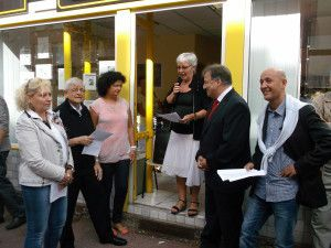 inauguration du local d'Union Pour Firminy