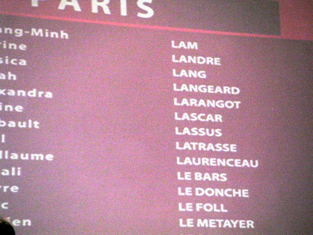Remise des diplomes de l'Iseg au Carrousel du Louvre le 15 mai 2009.