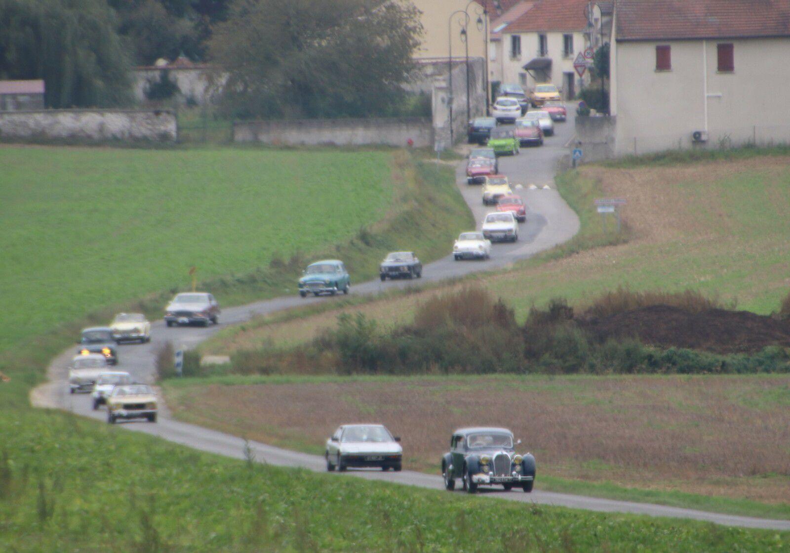 Voitures anciennes à Tremblay en France