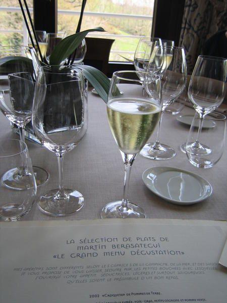 week end au pays Basque (Pâques 2007) avec repas dimanche midi chez Martin Berasategui