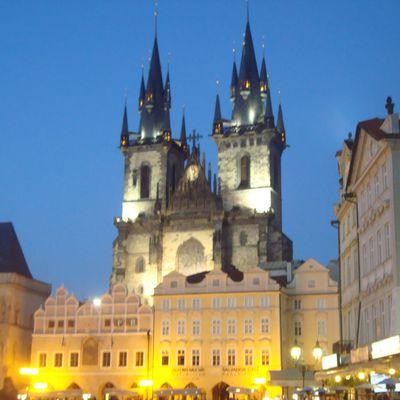 Interrail 2010: Prague, ville aux 100 clochers...