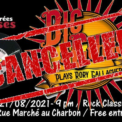 🎵 Big Guns (Tribute to Rory Gallagher) @ Rock Classic - 21/08/2021