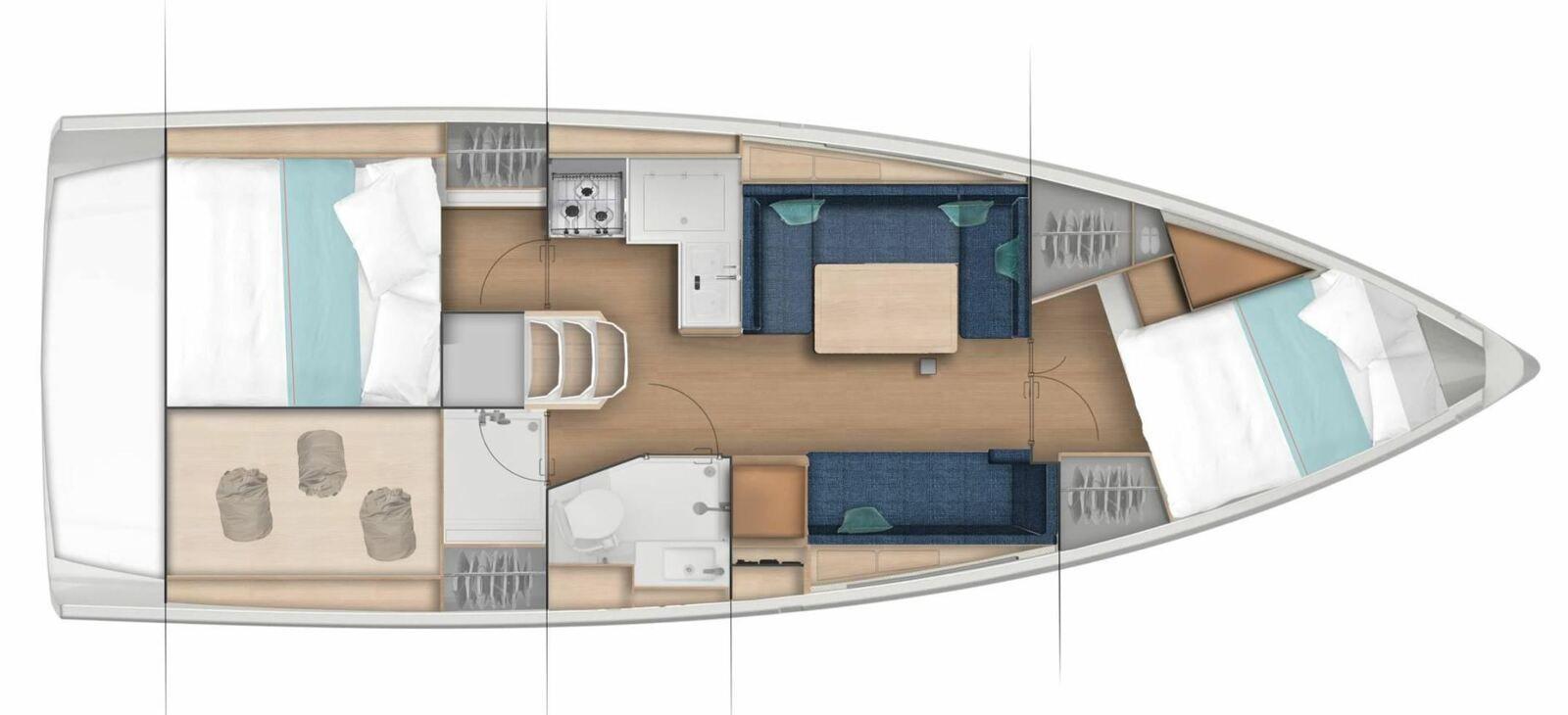 Nouveauté voile - Jeanneau lance le Jeanneau Sun Odyssey 380