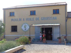 Moulin à huile de Gruissan le 16 Août 2018.