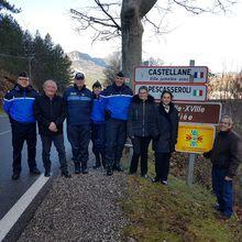 Castellane : Le panneau sécurité installé