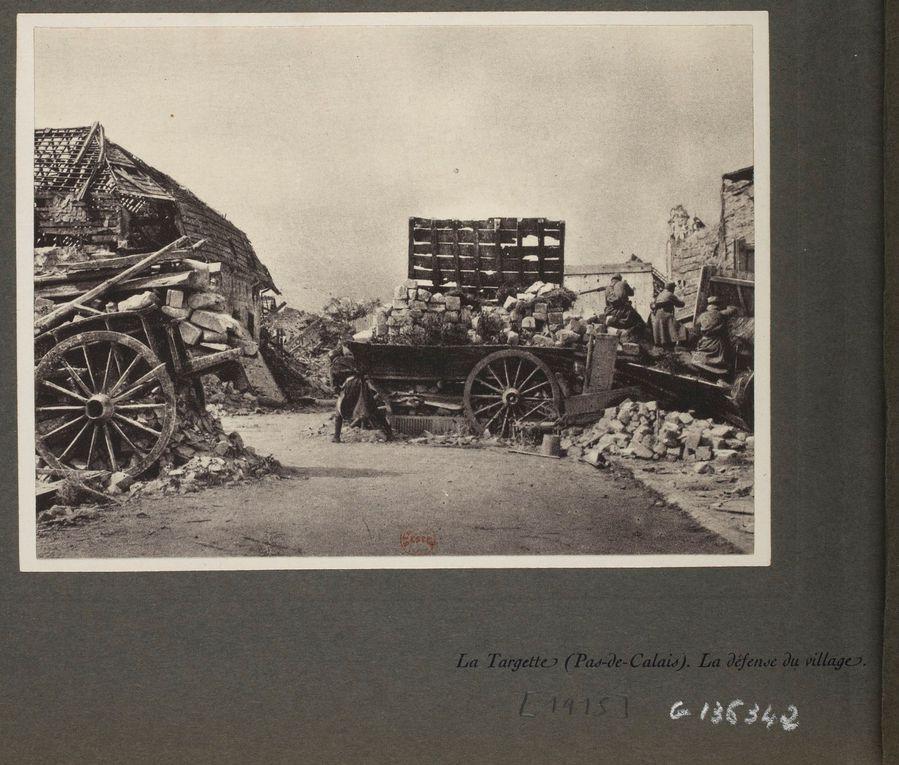Album de la Section photographique de l'armée française. (source : Europeana collections / Gallica)