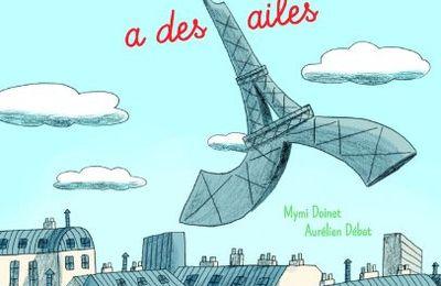 La Tour Eiffel a des ailes.