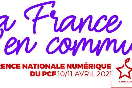 Conference nationale du PCF les 10 et 11 avril 2021