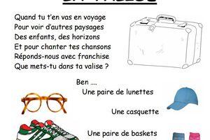 Paroles de la chanson La valise de Ph. Roussel par Denise43