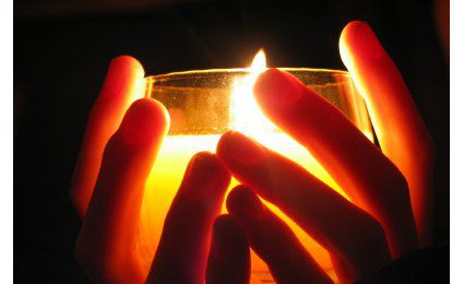 A candle story
