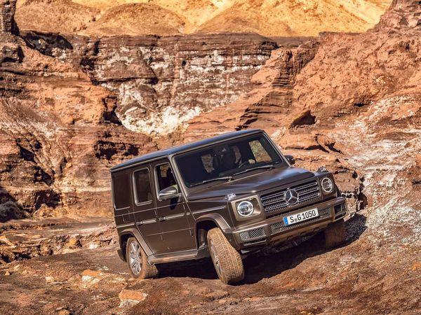 Mercedes Classe G : il fait peau neuve, mais rien ne change... ou presque !