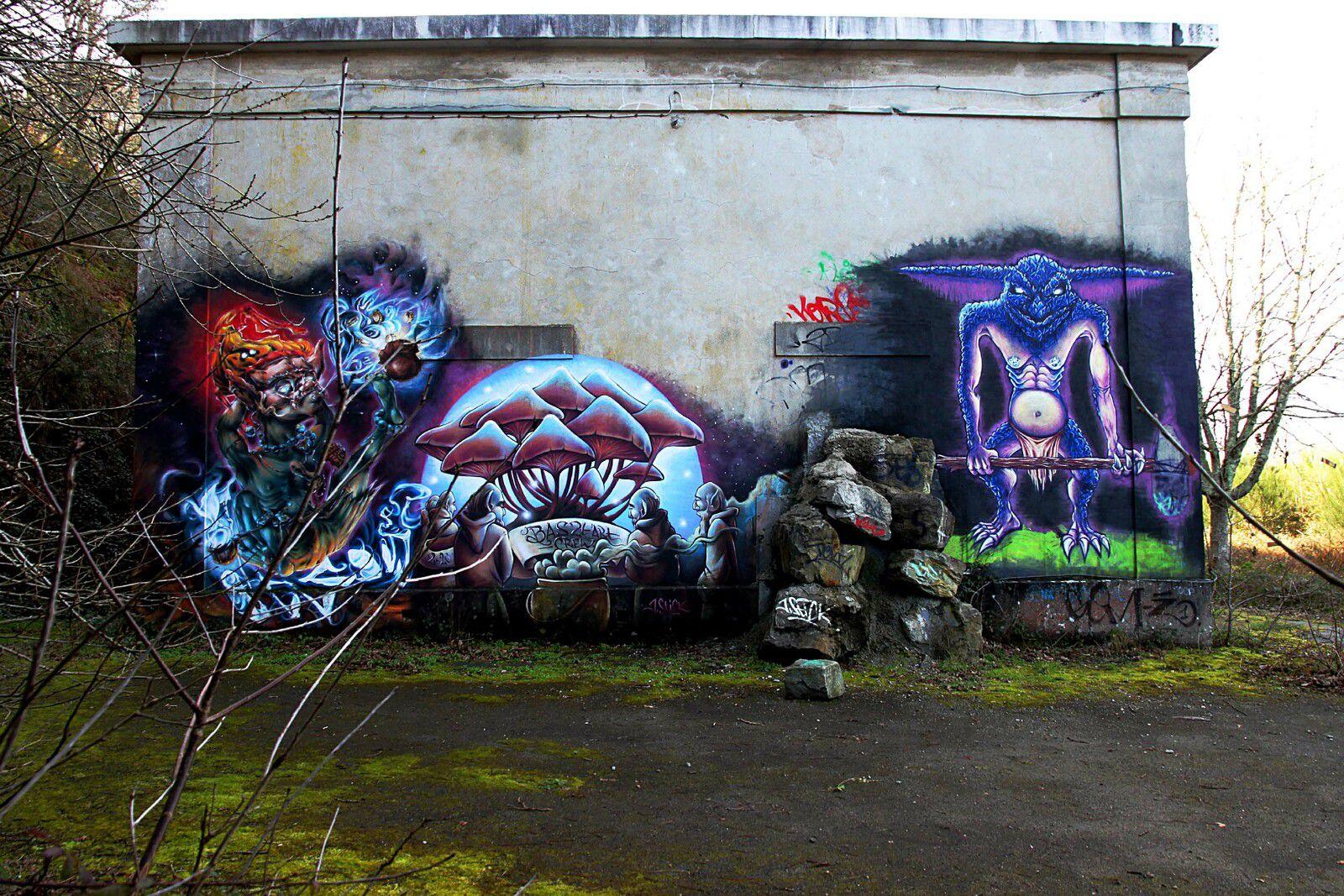 Graffiti à la Poudrière - Mercredi 24 février 2021